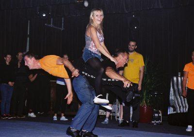 comedie spectacle skydance Einville sur jard