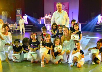 les enfants dansent au gala skydance-show 14ème Nuit des Etoiles 2018
