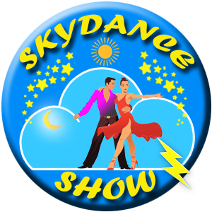 logo skydance show ecole de danse de salon