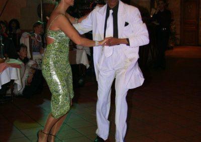 diner spectacle danse salsa