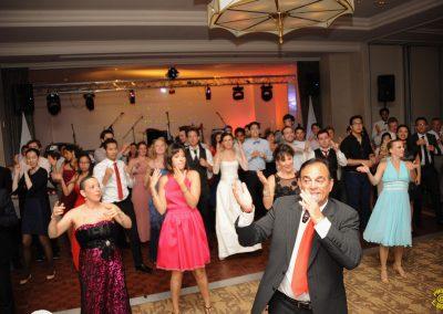 danse avec skydance-show au mariage de stephanie