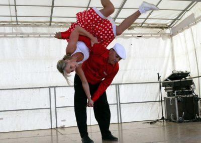 danse acrobatique skydance show